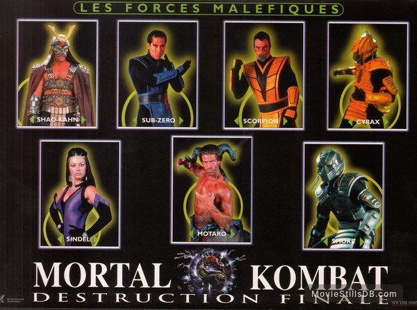 Mortal Kombat Annihilation Lobby Card With Ridley Tsui Brian