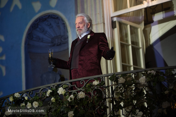 The Hunger Games: Catching Fire - Publicity still of Donald Sutherland