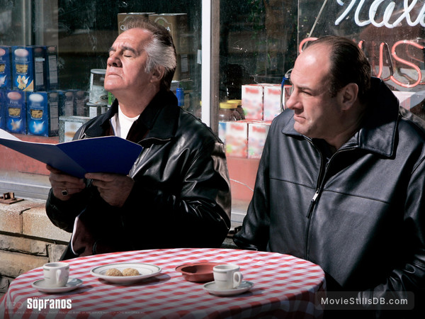 The Sopranos - Wallpaper with James Gandolfini & Tony Sirico