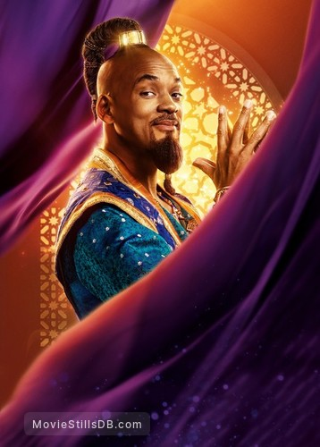 Aladdin - Promotional art with Will Smith