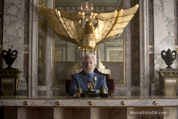 The Hunger Games: Mockingjay - Part 1 - Publicity still of Donald Sutherland