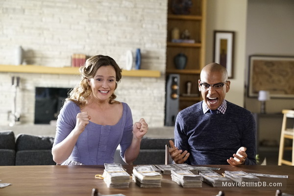 Making History - Publicity still of Leighton Meester & Yassir Lester
