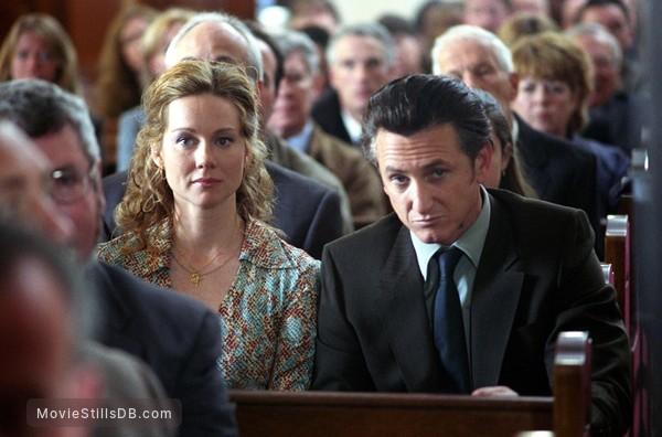 Mystic River - Publicity still of Sean Penn & Laura Linney