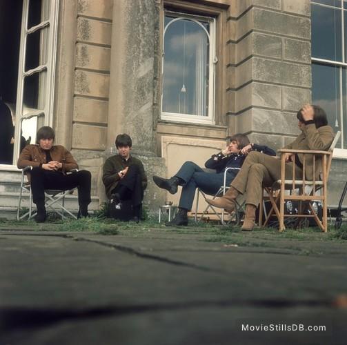 Help! - Publicity still of George Harrison, John Lennon, Paul McCartney & Ringo Starr