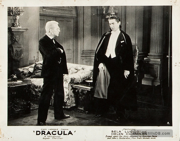 Dracula - Lobby card with Bela Lugosi & Edward Van Sloan