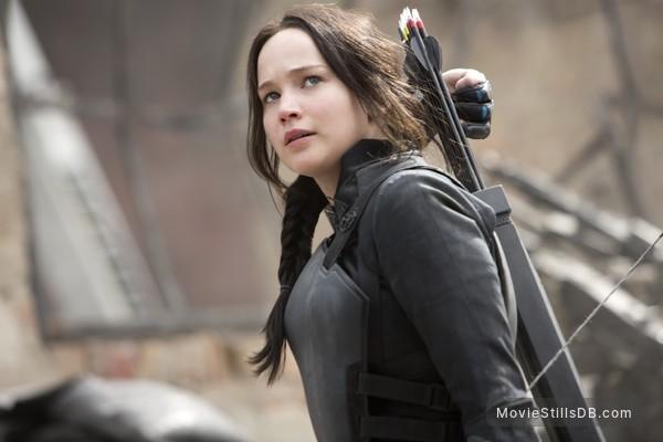 The Hunger Games: Mockingjay - Part 1 - Publicity still of Jennifer Lawrence