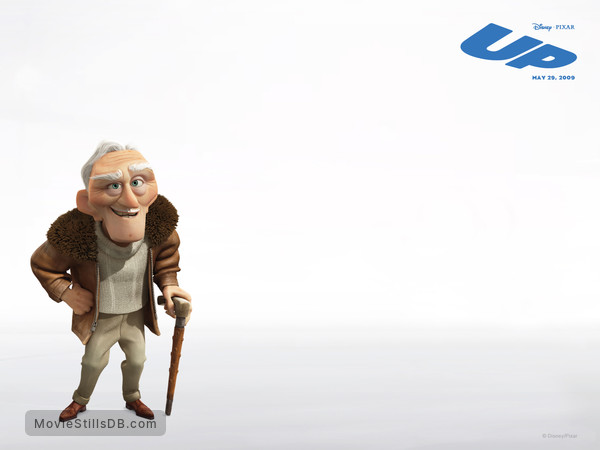 Up - Wallpaper with Christopher Plummer
