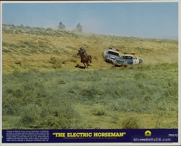 The Electric Horseman - Lobby card with Robert Redford
