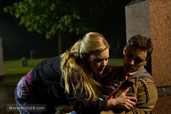 Ghost Storm Publicity Still Of Cindy Busby Andrew Dunbar