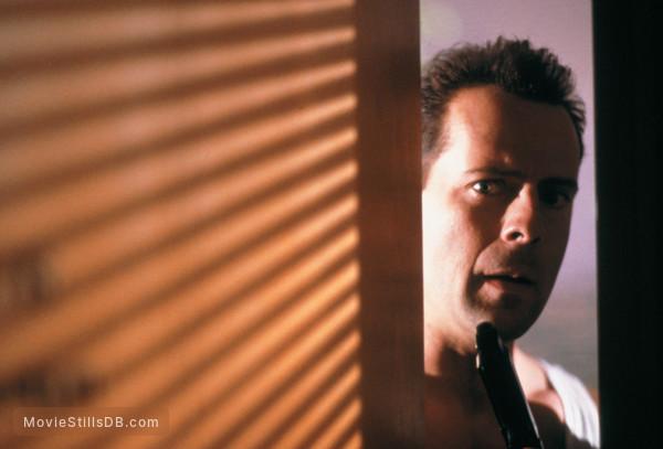 Die Hard - Publicity still of Bruce Willis