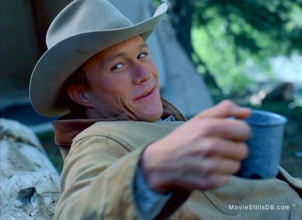 Brokeback Mountain - Publicity still of Heath Ledger