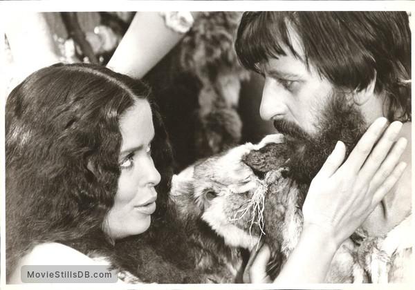 Caveman - Publicity still of Barbara Bach & Ringo Starr