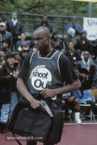 Above the Rim - Publicity still of Wood Harris
