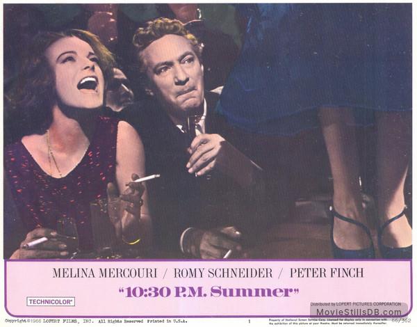 10:30 P.M. Summer - Lobby card