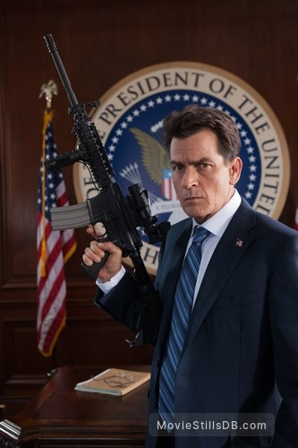 Machete Kills - Publicity still of Charlie Sheen