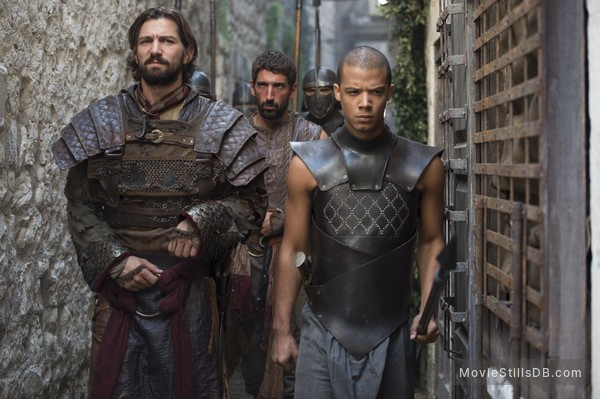 Game of Thrones - Publicity still of Jacob Anderson & Michiel Huisman