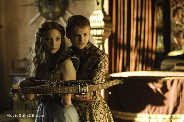 Game of Thrones - Publicity still of Natalie Dormer & Jack Gleeson