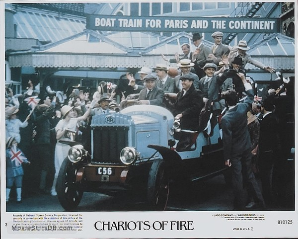 Chariots of Fire - Lobby card