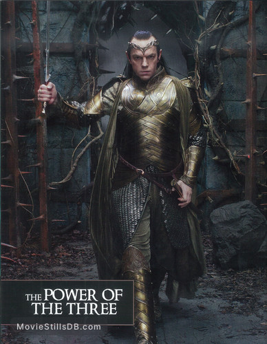The Hobbit The Battle Of The Five Armies Publicity Still Of Hugo Weaving