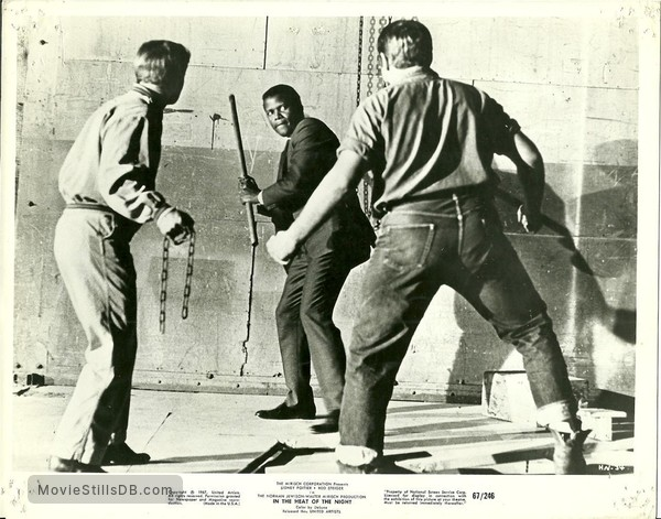 In the Heat of the Night - Publicity still of Sidney Poitier