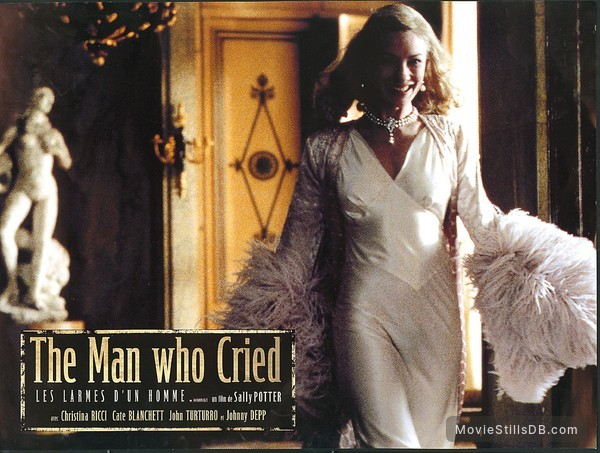 The Man Who Cried - Lobby card with Cate Blanchett
