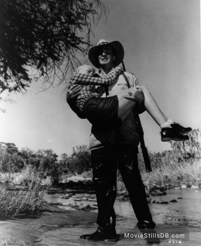 Safari - Publicity still of Janet Leigh & Victor Mature