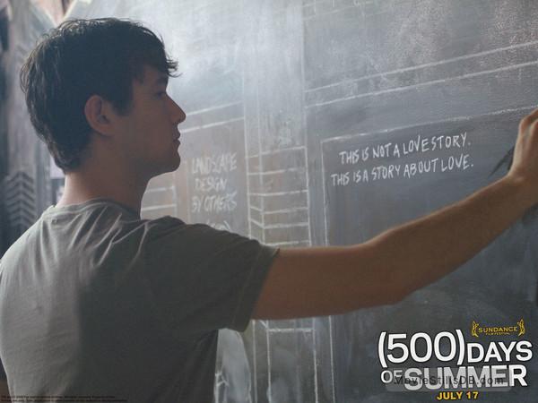 (500) Days of Summer - Wallpaper with Joseph Gordon-Levitt