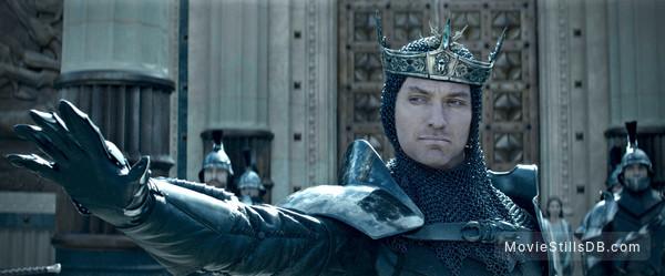 King Arthur: Legend of the Sword - Publicity still of Jude Law