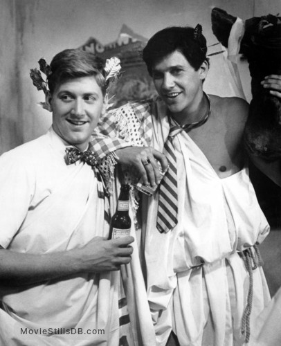 Animal House - Publicity still of Tim Matheson & James Widdoes