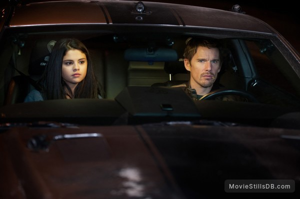Getaway - Publicity still of Ethan Hawke & Selena Gomez