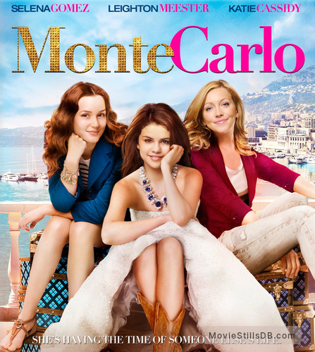Monte Carlo - Promotional art with Selena Gomez, Katie Cassidy & Leighton Meester