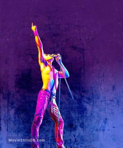 Bohemian Rhapsody - Promotional art with Rami Malek
