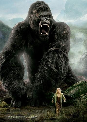 King Kong - Promotional art with Naomi Watts