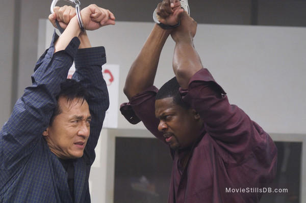 Rush Hour 3 - Publicity still of Jackie Chan & Chris Tucker