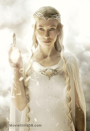 The Hobbit: An Unexpected Journey - Promotional art with Cate Blanchett