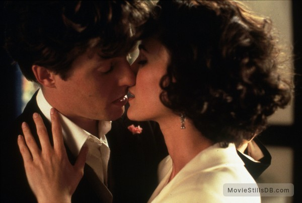Four Weddings and a Funeral - Publicity still of Andie MacDowell & Hugh Grant