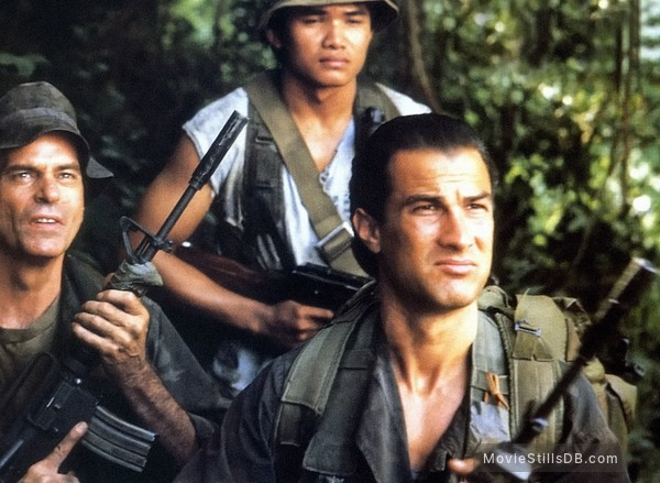 Above The Law - Publicity still of Steven Seagal