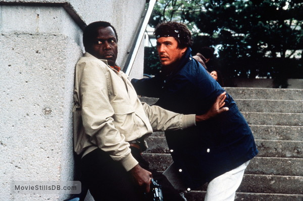Shoot to Kill - Publicity still of Sidney Poitier & Tom Berenger
