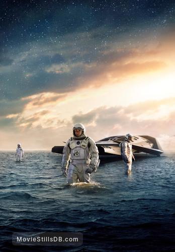 Interstellar - Promotional art with Matthew McConaughey, Anne Hathaway & Wes Bentley