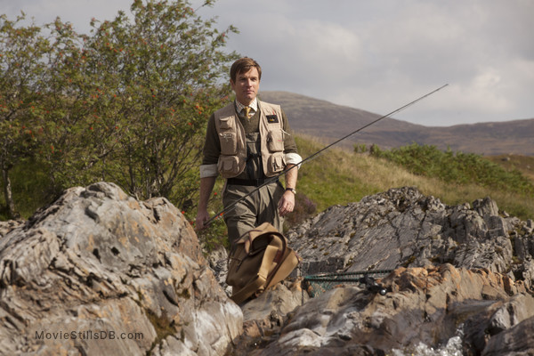 Salmon Fishing in the Yemen - Publicity still of Ewan McGregor