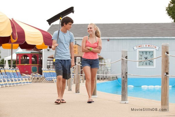 The Way Way Back - Publicity still of Liam James & AnnaSophia Robb