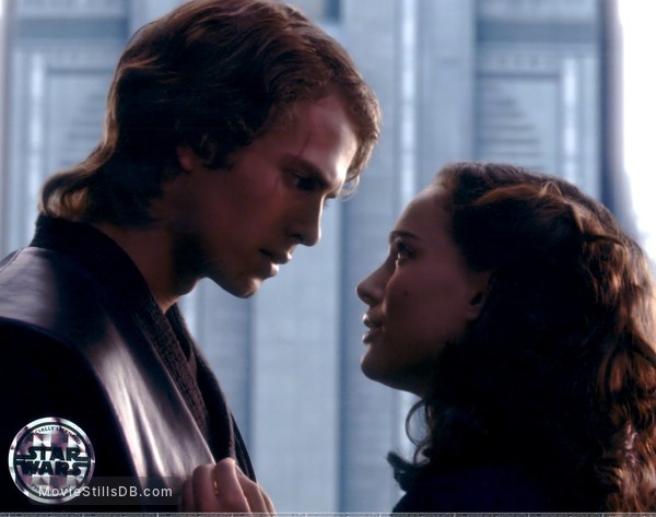 Star Wars: Episode III - Revenge of the Sith - Publicity still of Hayden Christensen & Natalie Portman