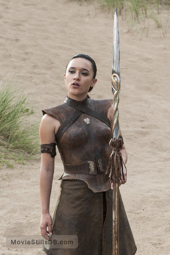 Game of Thrones - Publicity still of Keisha Castle-Hughes