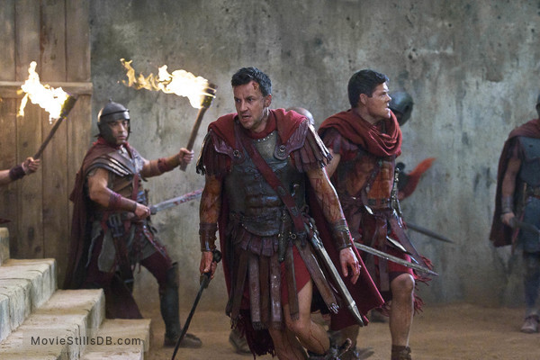 Spartacus: Blood And Sand - Publicity still of Craig Parker & Paul Glover