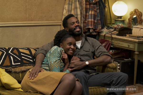 If Beale Street Could Talk - Publicity still of Kiki Layne & Colman Domingo