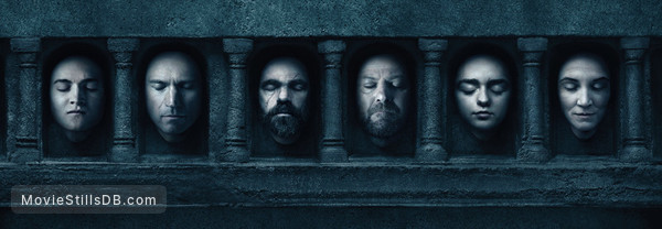 Game of Thrones - Promotional art with Jack Gleeson, Michelle Fairley, Peter Dinklage, Sean Bean, Maisie Williams & Nikolaj Coster-Waldau