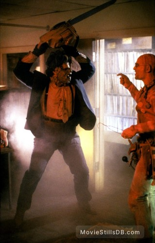 The Texas Chainsaw Massacre 2 - Publicity still of Johnny Messner & Bill Moseley