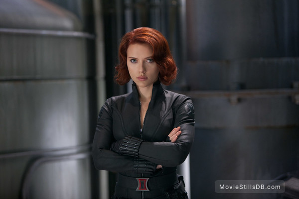 The Avengers - Publicity still of Scarlett Johansson