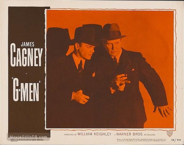 'G' Men - Lobby card
