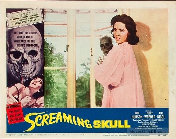 The Screaming Skull - Lobby card